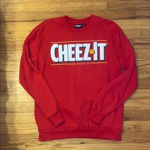 NWOT Cheez It Crew Neck Sweatshirt